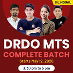 DRDO MTS COMPLETE BATCH | Bilingual | Live Classes