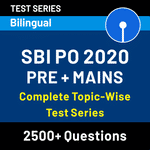 Topic Wise Test Series | SBI PO | Pre + Mains (Test Series)
