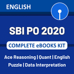SBI PO 2020 Complete eBook Kit (English Medium)