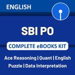 SBI PO 2021 Complete eBook Kit (English Medium)