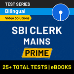 SBI Clerk Mains Prime 2020 Online Test Series