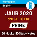 JAIIB Paper I, II & III Prime 2020 Online Test Series