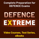 Defence Extreme Complete Preparation for Defence Exams With Test Series