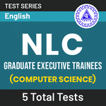 NLC Graduate Executive Trainee (Computer Science) 2020 Online Test Series