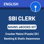 SBI Clerk 2020 Mains eBooks Kit (English Medium)