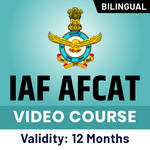 IAF AFCAT Video Course