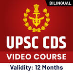 UPSC CDS (IMA, INA & AFA) and OTA Video Course