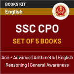 SSC CPO 2020 Tier-I eBook Kit (English Edition)