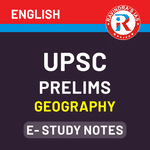 UPSC Prelims Geography E-Study Notes 2020 eBook (English Medium)