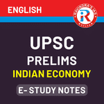 UPSC Prelims Indian Economy E-Study Notes 2020 eBook (English Medium)