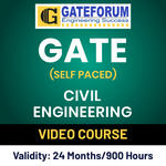GATE Civil Engineering Online (Self Paced) Video Course
