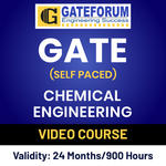 GATE Chemical Engineering Online (Self Paced) Video Course