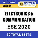 ESE Electronics & Communication 2020 Online Test Series