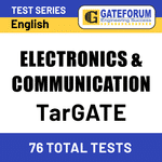 TarGATE Electronics & Communication Engineering 2021 Online Test Series