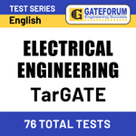 TarGATE Electrical Engineering 2021 Online Test Series