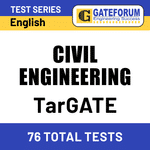 TarGATE Civil Engineering 2021 Online Test Series