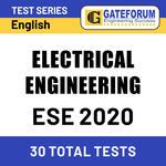 ESE Electrical Engineering 2020 Online Test Series