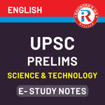 UPSC Prelims Science & Technology E-Study Notes 2020 eBook (English Medium)
