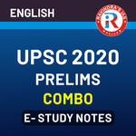 UPSC Prelims E-Study Notes Combo 2020 eBooks (English Medium)