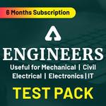 Engineers Test Pack Online Test Series (Validity 6 Months)