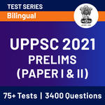 UPPSC Prelims 2021 Online Test Series