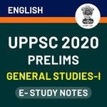 UPPSC Prelims General Studies-I 2020 eBooks (English Medium)