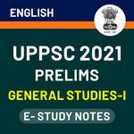 UPPSC Prelims General Studies-I 2021 eBooks (English Medium)
