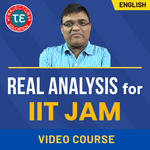 REAL ANALYSIS FOR IIT JAM VIDEO COURSE