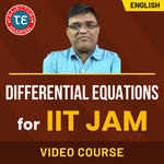 DIFFERENTIAL EQUATIONS FOR IIT JAM VIDEO COURSE