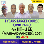 Target IIT-JEE (Main + Advanced) 2021 | One Year Foundation Course For Class 12th (Passed) Students By JRS Tutorials