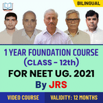 Target NEET 2021 | One Year Foundation Course For Class 12th Students By JRS Tutorials