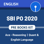 SBI PO Prelims 2020 Books Kit (English Printed Edition)