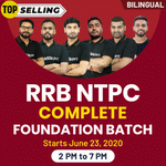 RRB NTPC Complete Foundation Batch | Bilingual | Live Class