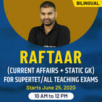 रफ़्तार (Current Affairs + Static GK) for Supertet/All teaching Exams | Bilingual | Live Clas
