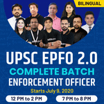 UPSC EPFO 2.O Complete Batch Enforcement Officer| Bilingual | Live Classes