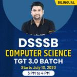 DSSSB Computer Science TGT 3.0 Batch | Bilingual | Live Class