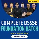 Complete DSSSB Foundation Batch | Bilingual | Live Class