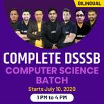 Complete DSSSB Computer Science Batch | Bilingual | Live Class