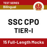 SSC CPO Online Test Series 2020: Practice SSC CPO Tier 1 Test Series