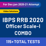 IBPS RRB PO Test Series 2020 Combo: RRB Officer Scale 1 Test Series