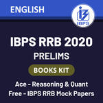 IBPS RRB Books kit 2020 for (PO + Clerk) Prelims: English Printed Edition