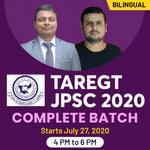 Target JPSC 2020 Complete Batch | Bilingual | Live Class