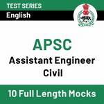 Assam PSC Mock Test Series for Assistant Engineer (Civil) Prelims