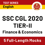 SSC CGL Tier-2 Mock Test Series 2020: Online Test Series For Finance and Economics