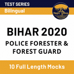 Bihar Police Bharti 2020 for Forest Guard Post Practice Online Test Series