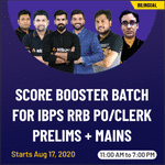 IBPS RRB PO & Clerk (Pre+Mains) exams 2020 Bilingual Live online classes  | Score Booster Batch by Adda247