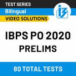 IBPS PO Prelims Online test series 2020 by Adda247