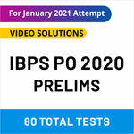 IBPS PO Prelims Online test series 2020 by Adda247