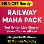 Railway Mahapack ( 12 Months Validity )