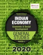 Indian Economy Economic & Social Development for General Studies Paper 1 UPSC Prelim Exam 2020 by Adda247 (Printed Book)